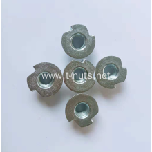 Irregular Two claws Circular base Tee nuts